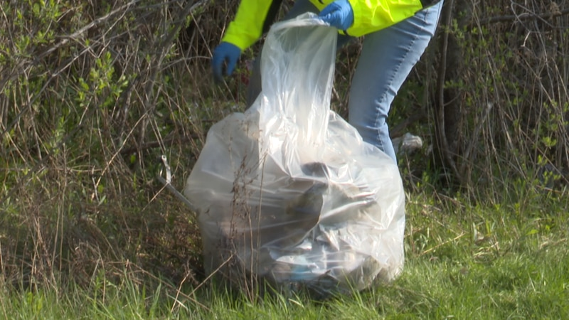 Some area residents came out to help clean the streets of Watertown Saturday.