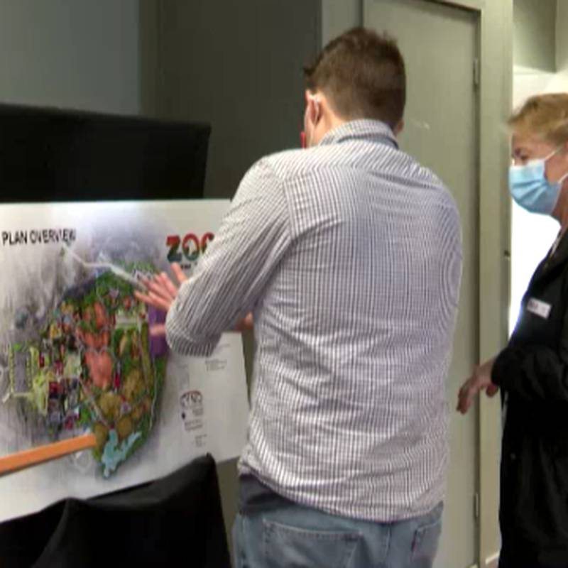 Watertown's Zoo New York unveiled a multi-phase master plan Wednesday.
