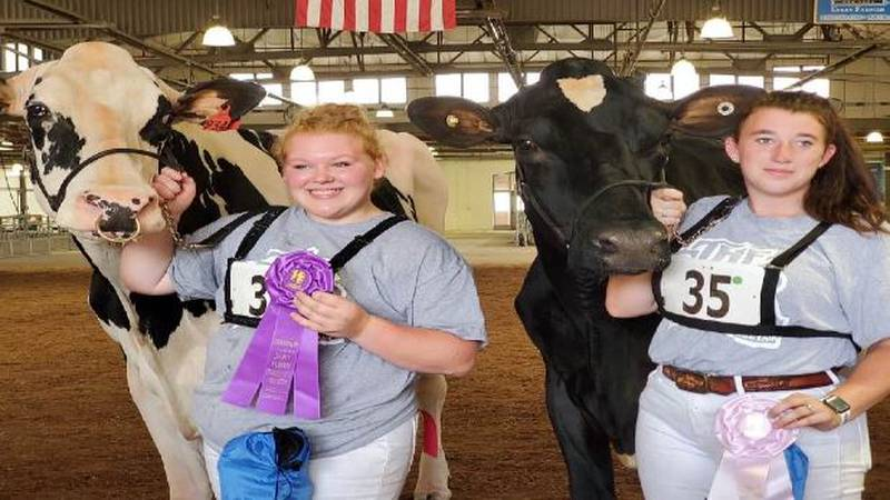 Two local girls took home grand prizes from the New York State Fair.