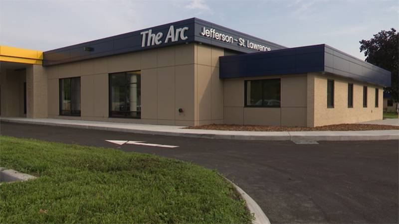 The ribbon was cut Thursday on a newly renovated Arc Jefferson-St. Lawrence building in...