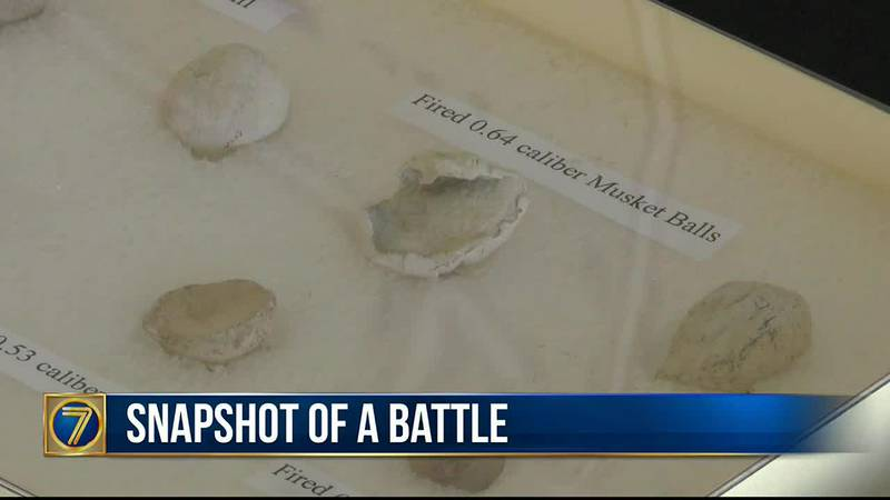 Researchers unearth artifacts on Horse Island that tell the story of the Second Battle of...