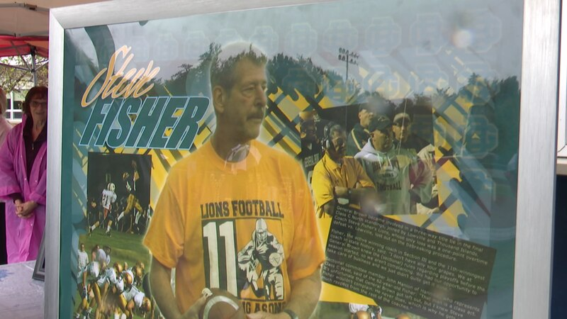On Sunday, a memorial service was held for Coach Fisher at the place he devoted so much of his...