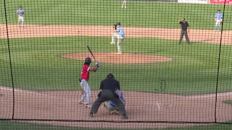 The Watertown Rapids faced off against the Auburn Doubledays Thursday night at the Alex Duffy...