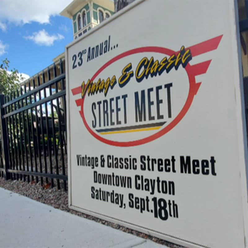 The Clayton Chamber of Commerce is looking for another judge for its Vintage and Classic Street...