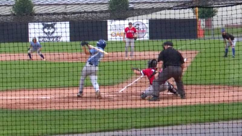 The Watertown Rapids faced off against the Auburn Doubledays at the Alex Duffy Fairgrounds...
