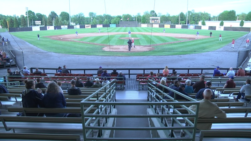 The Watertown Rapids were at the Alex T. Duffy Fairgrounds Friday night, hosting the Newark...