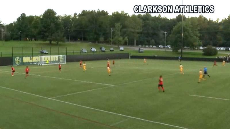 Clarkson University hosted SUNY Plattsburgh in men's college soccer on Wednesday.