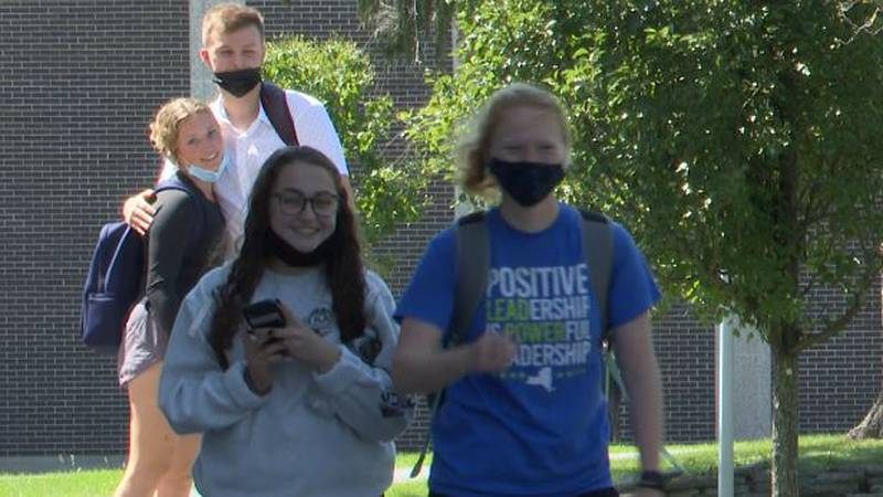 Students return to Jefferson Community College campus