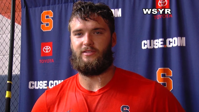 Will it be Tommy DeVito under center for the Orange or will it be Garrett Shrader, a transfer...