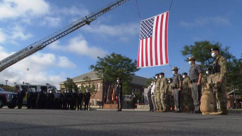 Fort Drum recognized the coming anniversary of 9/11 Friday