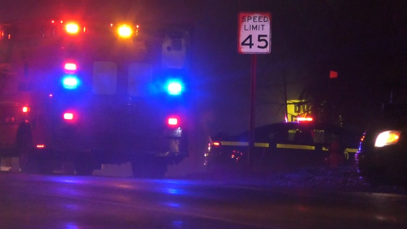 A section of State Route 12E was shut down for hours Friday night for a State Police...