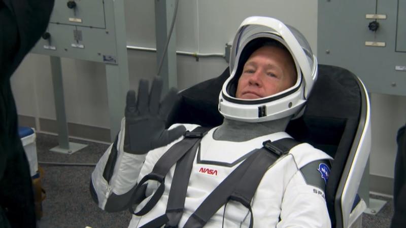 Astronaut Doug Hurley Saturday SpaceX Demo Launch.