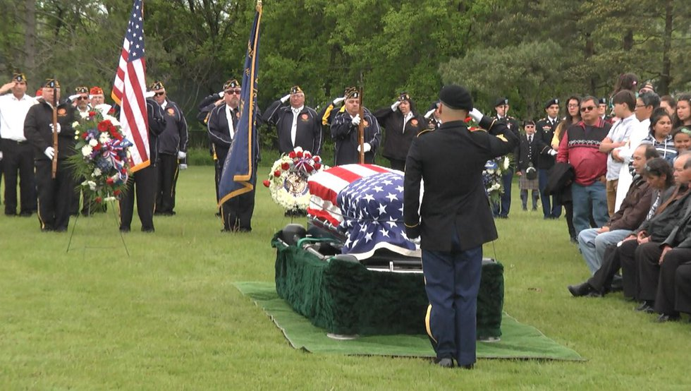 Hundreds Saturday celebrated the life, and noted the passing of, Louis Levi Oakes, the last of...