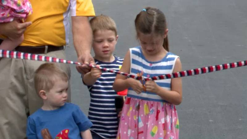 With the cut of a ribbon, the 200th edition of the Lewis County Fair got underway Tuesday.