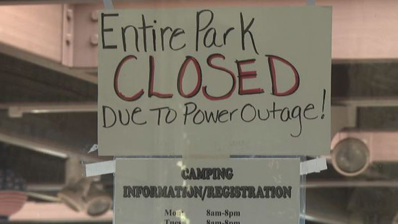 Sign at Robert Moses State Park