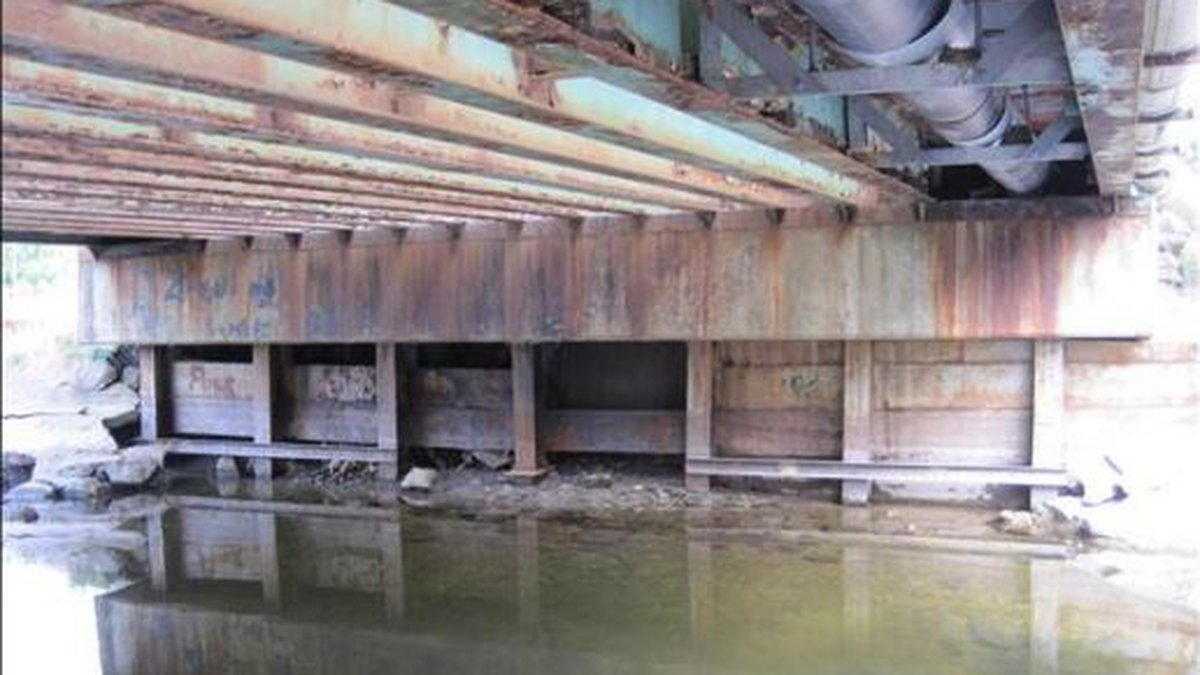 The Morristown Bay Bridge is closed to traffic because it's at risk of collapsing if the public...