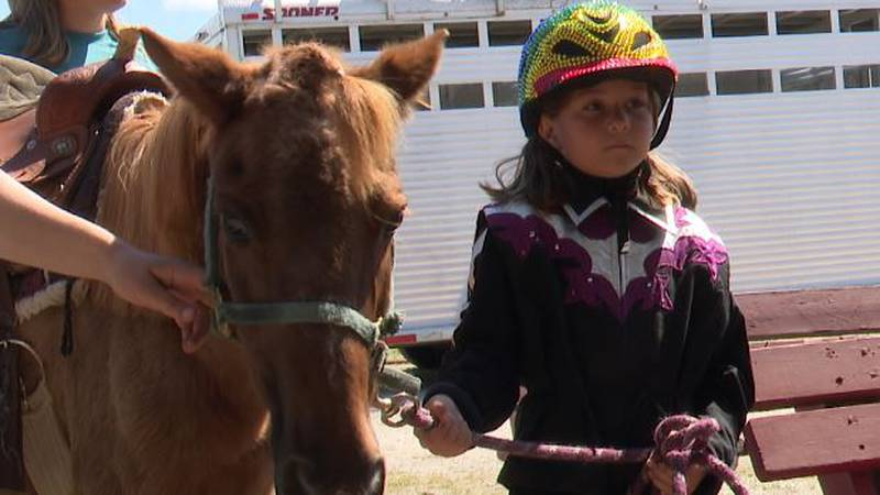 The Gouverneur and St. Lawrence County Fair opened Monday with the horse show
