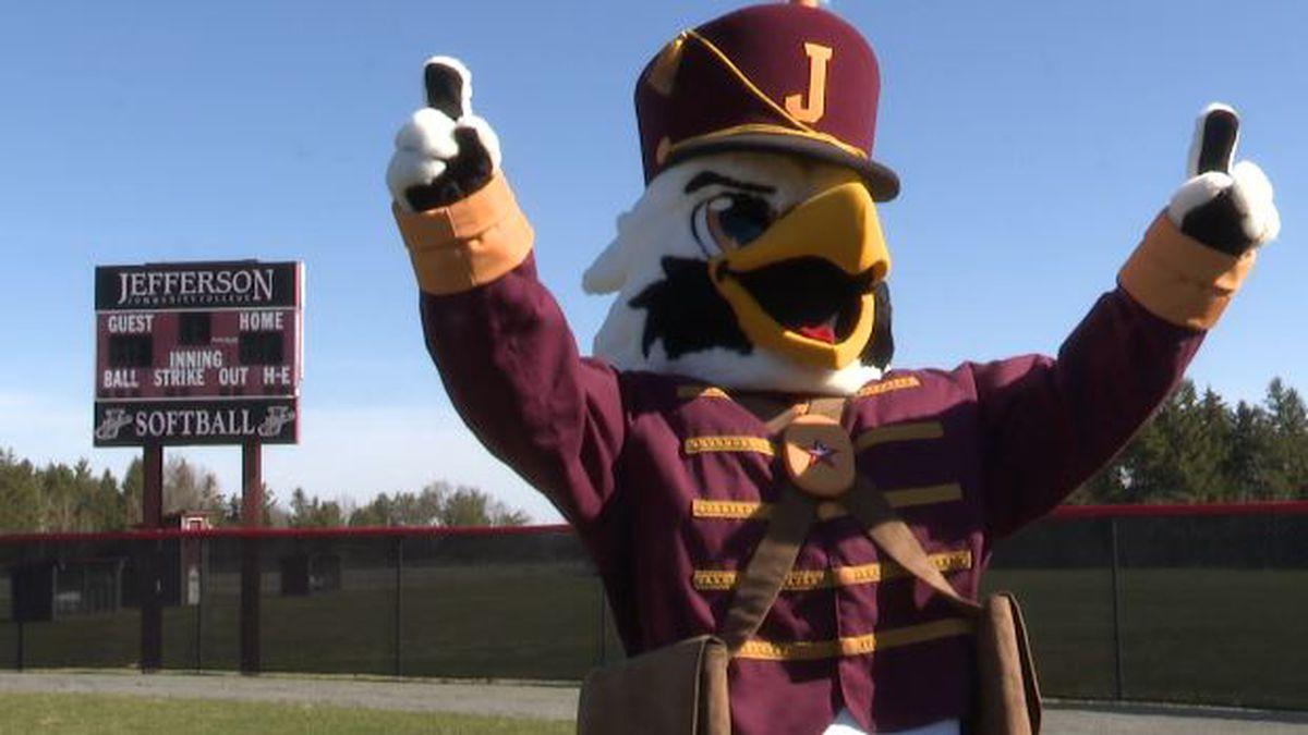 JCC's mascot, Boomer T. Cannoneer