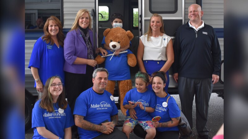 A warrior from Watertown received her Make-A-Wish dream come true over the weekend.