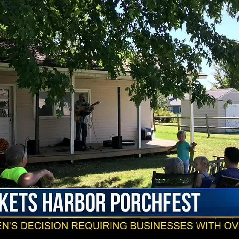 Sackets Harbor Porch Music Fest