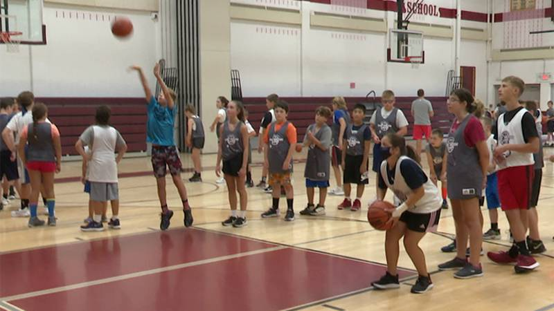 The Shot Doctor Basketball Camp, which helps young athletes improve their game, was in Sackets...