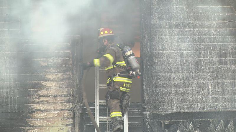 Volunteer firefighter recruit