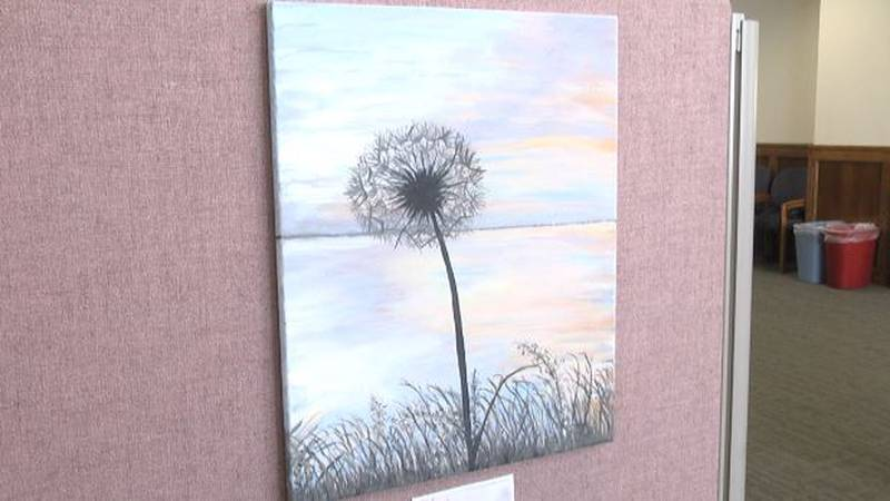 The winning submission featuring a dandelion was all about fresh starts.