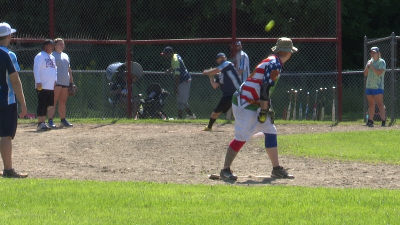 With every slide, catch, and dinger Saturday in Carthage, dozens of softball players were...
