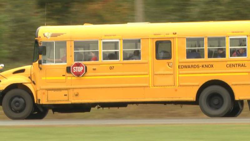 Edwards-Knox school bus