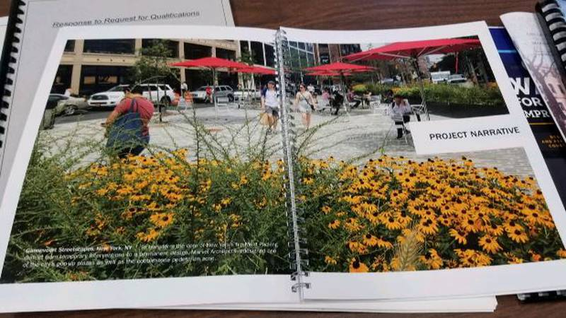 Streetscape project plan