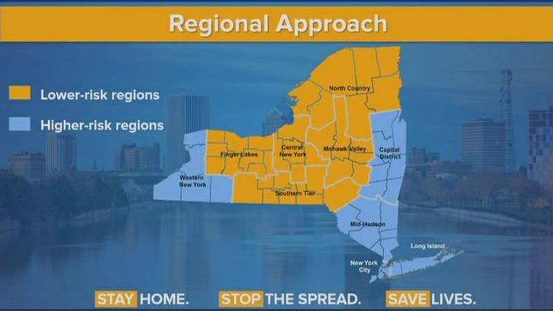 As regions begin to look at reopening, there's some concern. The north country is made up of 7...
