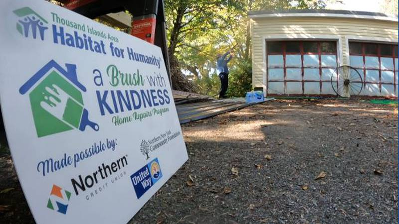 Habitat for Humanity usually builds new homes, but the Thousand Islands chapter also helps fix...