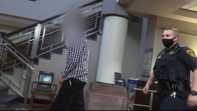 The teen pictured above going into St. Lawrence County Court spent more than a month in the ER.