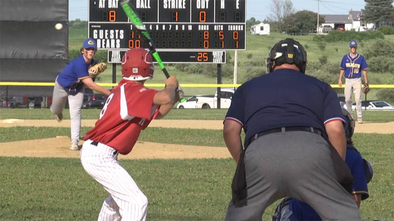Gouverneur and Massena faced off Thursday in the Section X baseball overall championship.