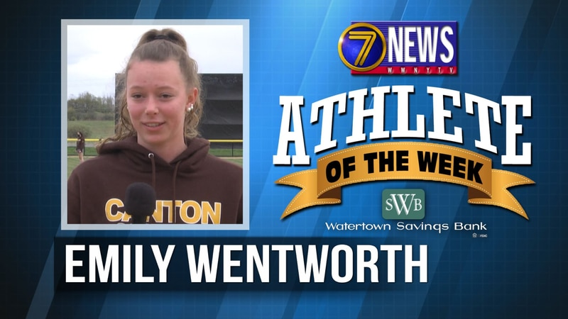 Emily is the 7 News - Watertown Savings Bank North Country Athlete of the Week for June 11, 2021.