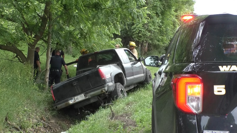 A man was airlifted to Syracuse after his truck went off the road in Watertown Saturday...