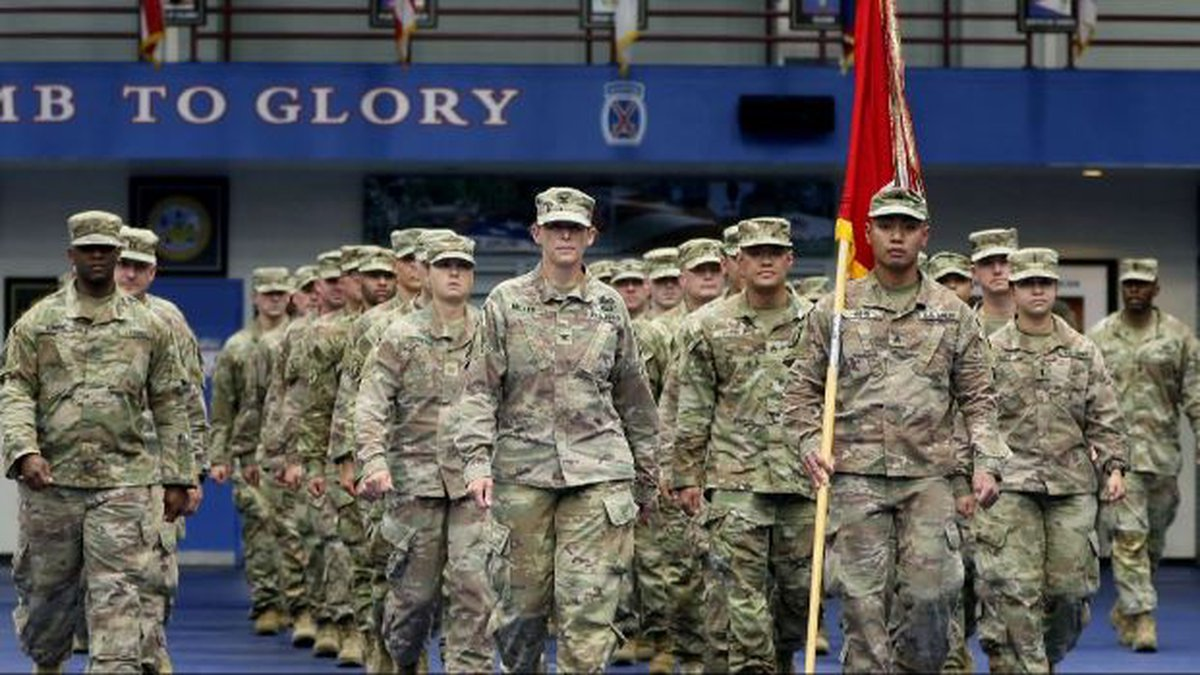 Fort Drum welcomed home 10th Mountain Division soldiers from Afghanistan Tuesday.