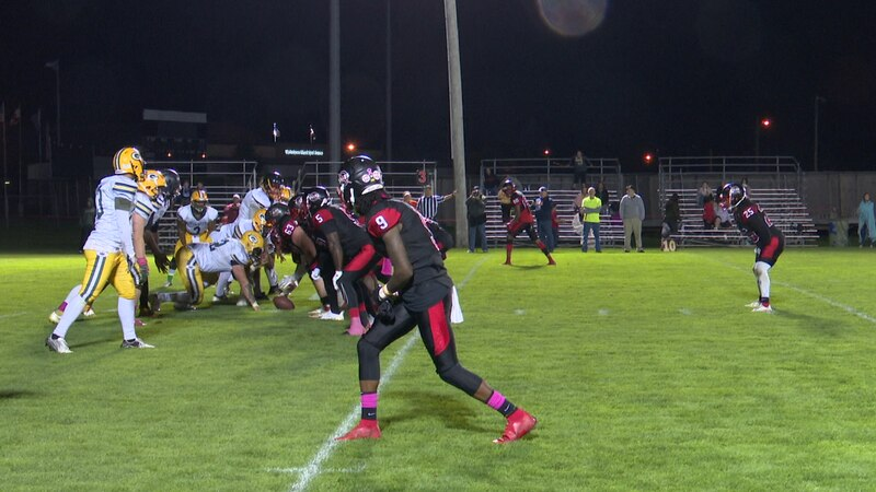 The Empire Football League championship was on the line at the Alex T. Duffy Fairgrounds...