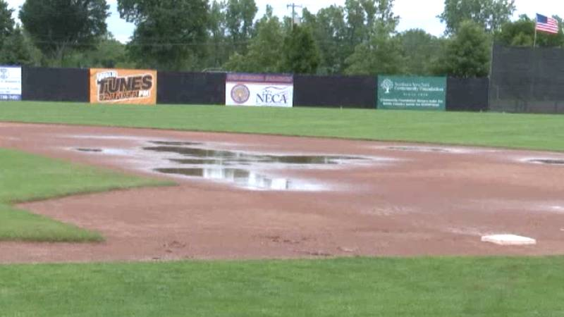 The Watertown Rapids home game Tuesday night at the Alex Duffy Fairgrounds against the Utica...