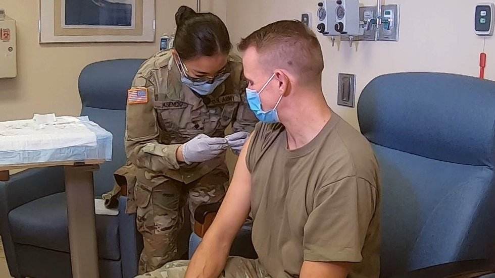 Military vaccination