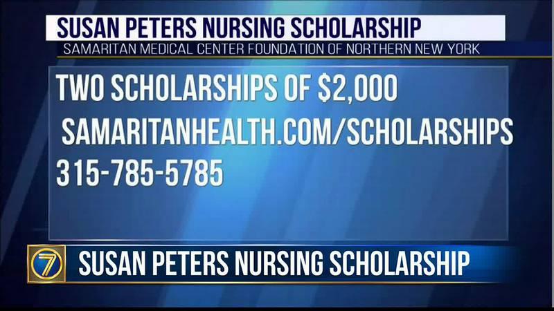 Morning Checkup: Susan Peters Nursing Scholarship