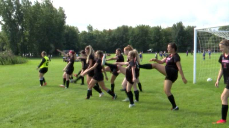 The Hammond girls' soccer team is getting ready for a new season under a new coach.