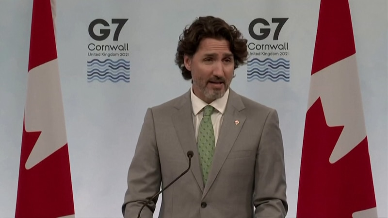 Canadian Prime Minister Justin Trudeau spoke on a few subjects at the G7 Summit Sunday.