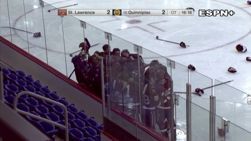 A bid to the NCAA Men's Division 1 Hockey Tournament was on the line Saturday afternoon in...