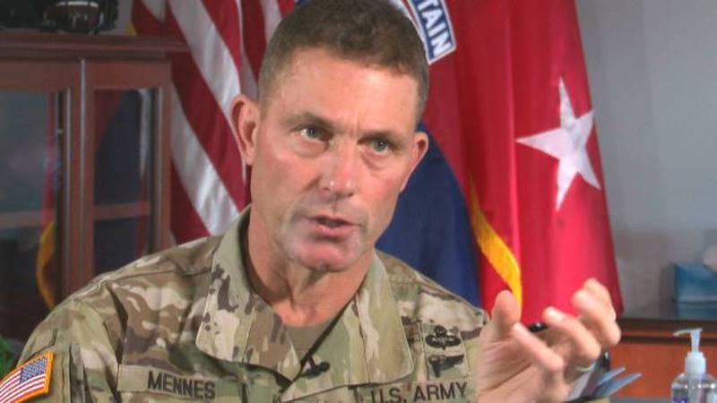 Major General Brian Mennes