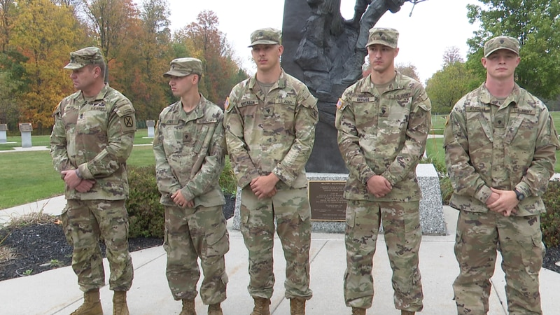 Things were quiet in Watertown, and five Fort Drum soldiers were heading home from dinner....