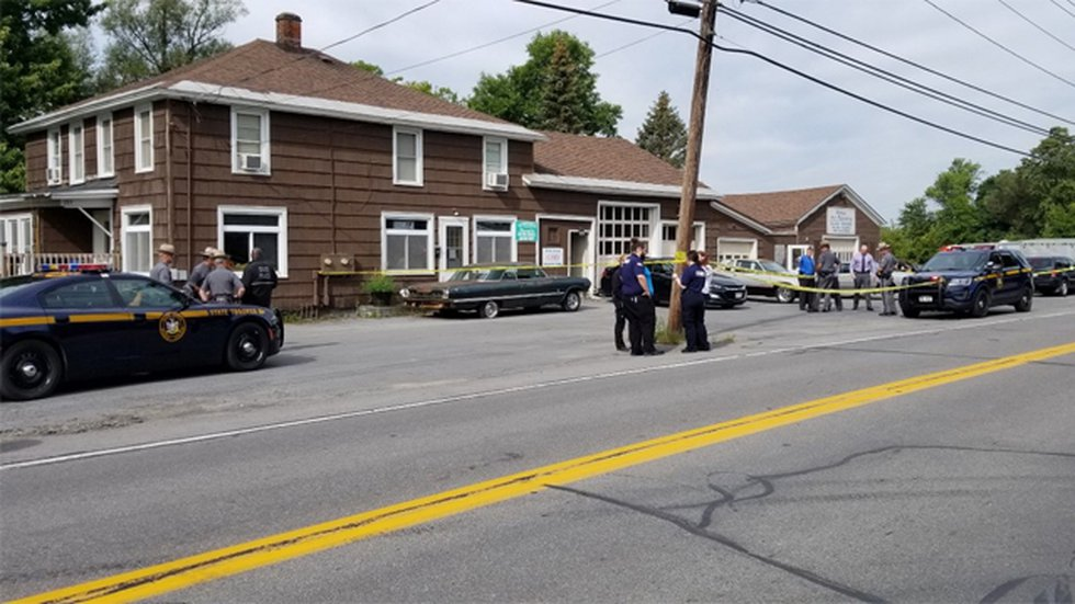 State police are investigating a shooting at Bailey's Auto Refinishing in Carthage that left...