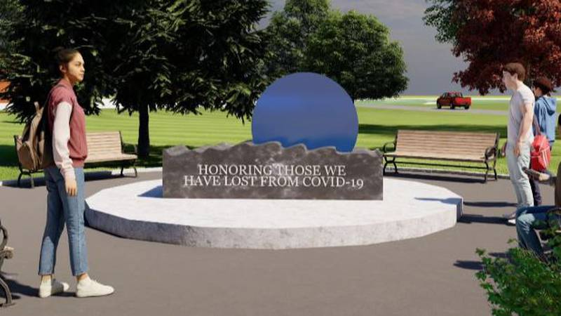 A COVID-19 memorial is proposed for Watertown's Thompson Park.