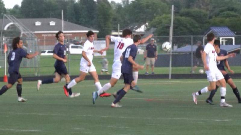 Potsdam and Massena faced off Wednesday in one of many boys' Frontier League and NAC soccer...