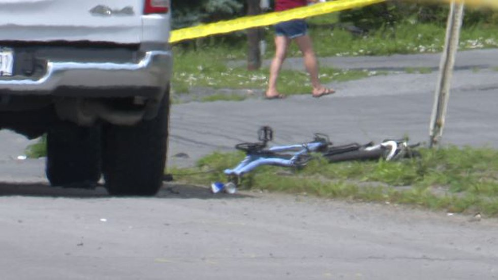 The Jefferson County Sheriff's Office is investigating a crash between a bicycle and truck